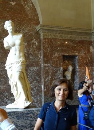 Louvre'da Tarihi ve Modern Venüs Birlikte