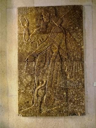 Asur duvar rölyefi - Nemrud M.Ö. 884-859