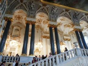 Müzenin merdivenleri