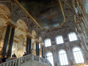 Müzenin merdivenleri ve tavanı