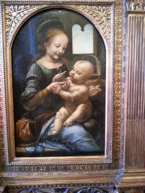 Leonardo Da Vinci'nin 1478 Benois Madonna