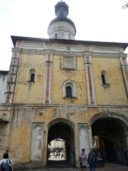 Aziz Kirilov Manastırı'nın cezaevi olarak kullanılan bölümü
