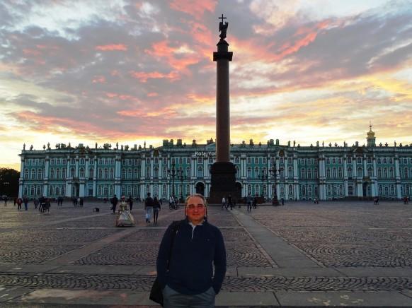 Saray Meydanı'ndan Hermitage Müzesi