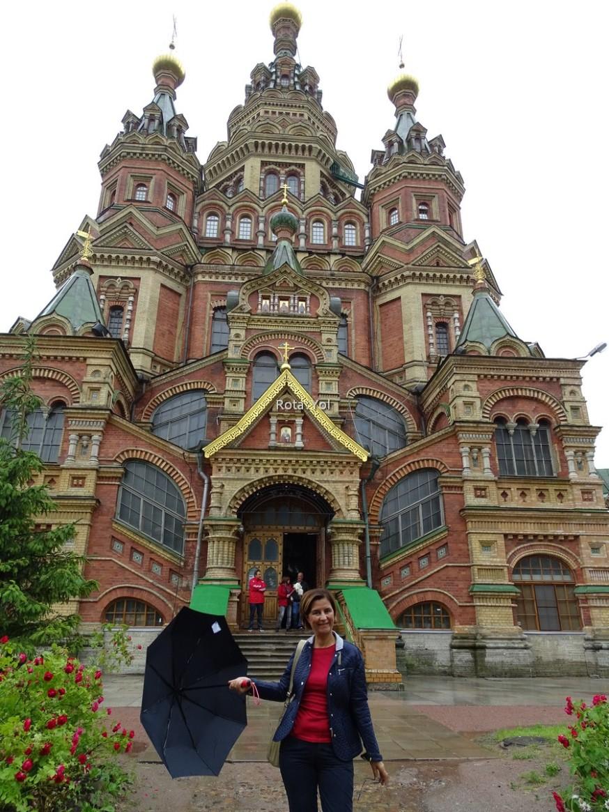 Çarlar Kasabası - Puşkin Köyü'nün Kilisesi