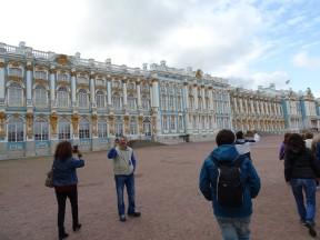 Sarayın bir kısmının dıştan görünüşü