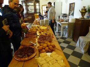 Mandrogi'de pastanenin pasta ve çörekleri