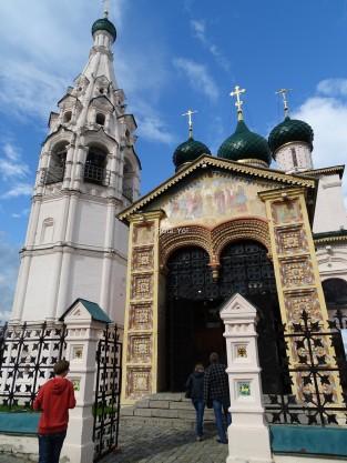 İlyas P. Kilisesi girişi