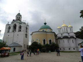 Altın kubbeli Assumption Katedrali