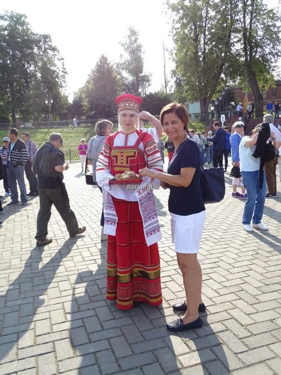Uglich'te karşılanışımız