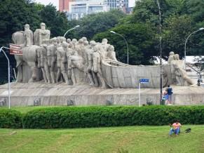 İbirapuera Parkı'nda enfes bir heykel