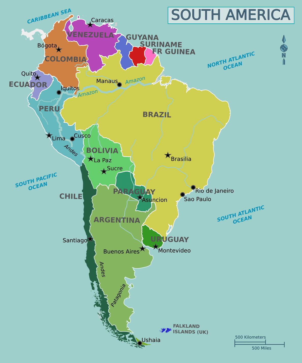 Arjantinin görme alanları: açıklamalar, fotoğraf