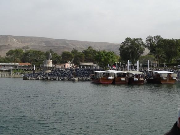 TİBERİAS (TABERİYE - CELİLE) GÖLÜ